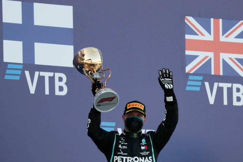 Venemaal võidutsenud Bottas: käige p***e!