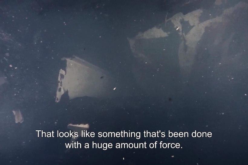 """ESTONIA VRAKI PARDAST LEITI SUUR AUK! Ekspert: """"Ei saa välistada selle olulist rolli laevahuku põhjustamisel."""""""