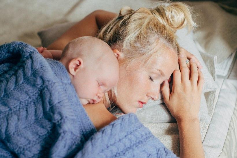 Saara Pius sünnitamisest: naised on ikka retsilt tugevad!
