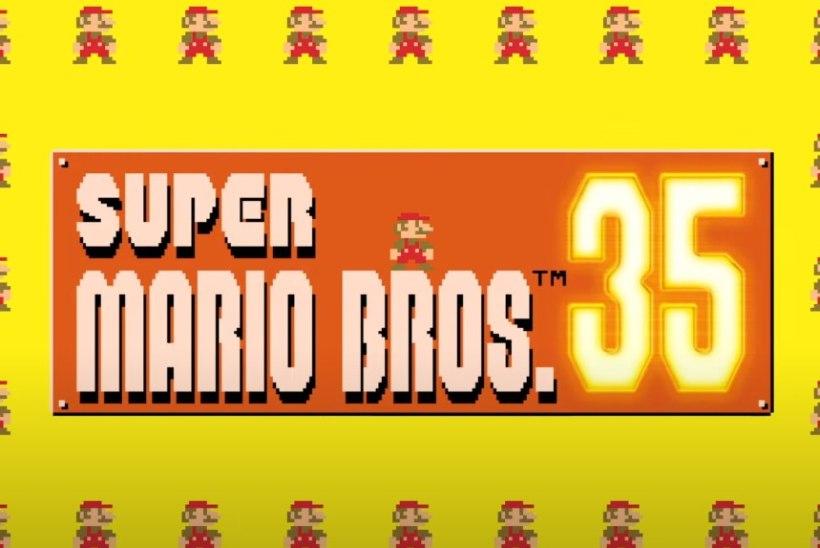 Super Mario 35. sünnipäev toob endaga kaasa ka battle royale mängu