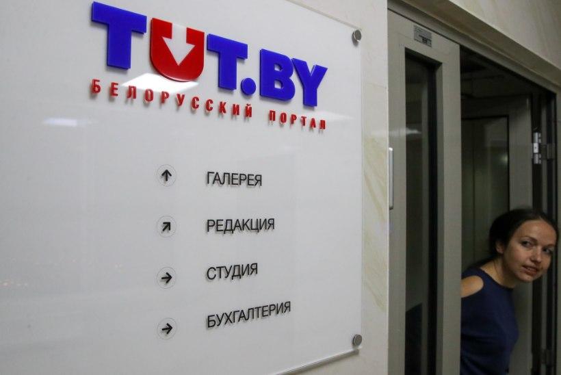 Valgevene valitsus sulgeb proteste kajastanud uudisteportaali
