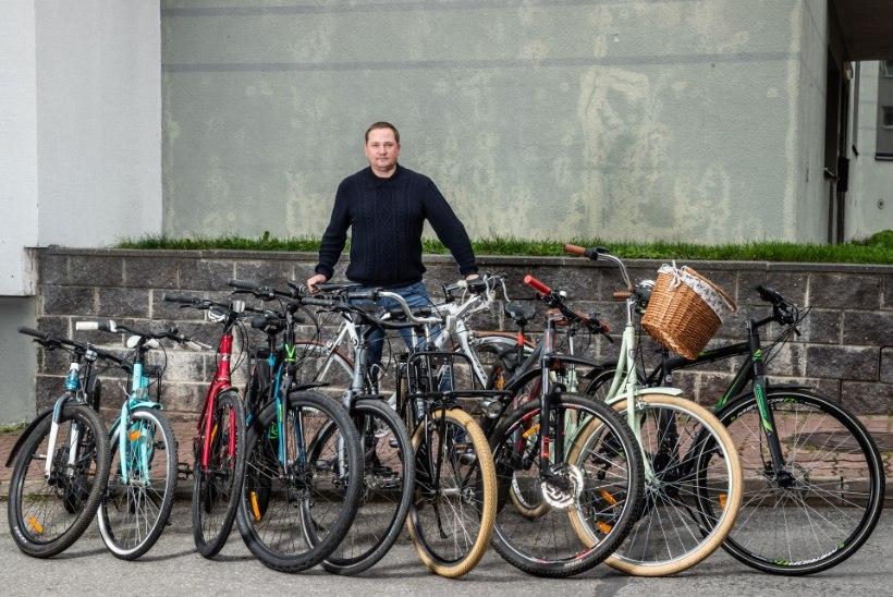 Jalgrataste ringluse käima pannud Ain: kui saad 500 eurot maksva ratta poole hinnaga, siis see on ju rõõm!