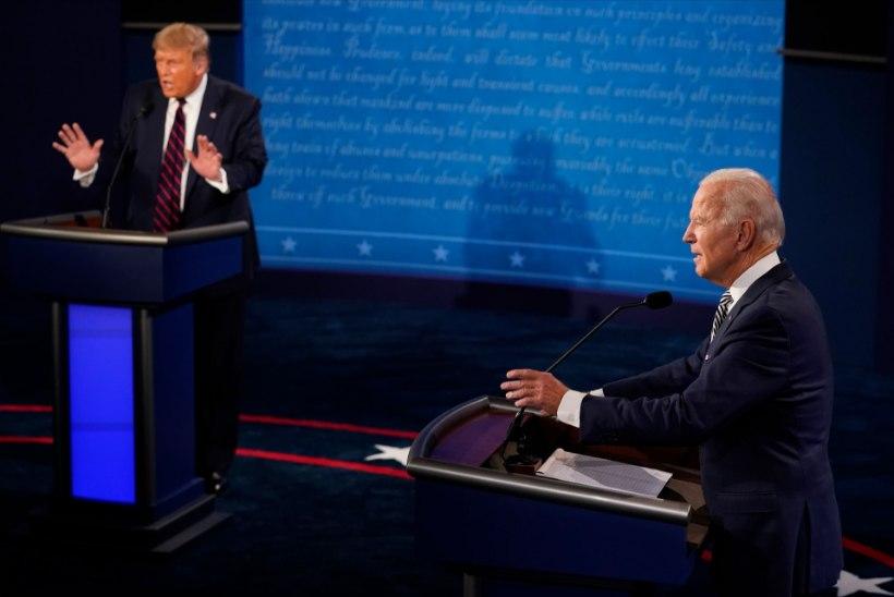 USA poliitika vaatleja Lauri Tankler: Trump tuli debatile lõhkuma ja Biden solvanguid taluma