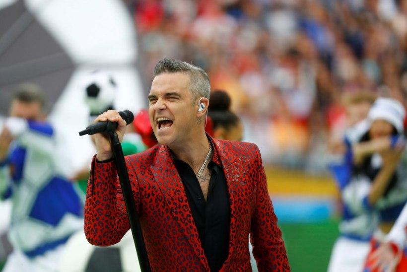 Robbie Williams usub, et tema tütrest saab samuti superstaar