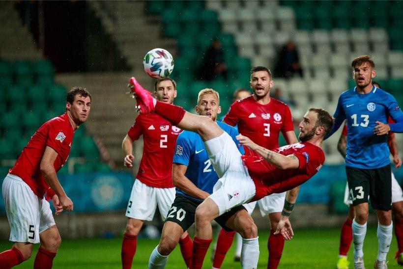 BLOGI JA GALERII | MASENDAV: Eesti jalgpallikoondis kaotas kodus Gruusiale