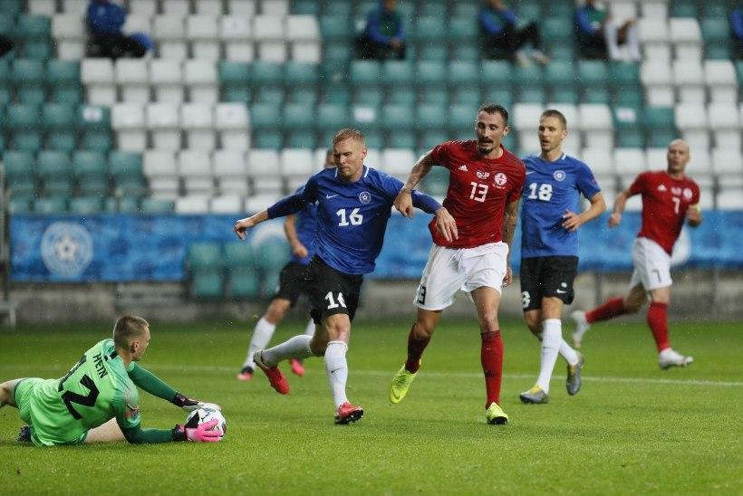7 VÕTIT | Eesti vutikoondis jäi üheksandat mängu järjest võiduta. Vassiljev: Eesti liiga meestega on raske taset tõsta