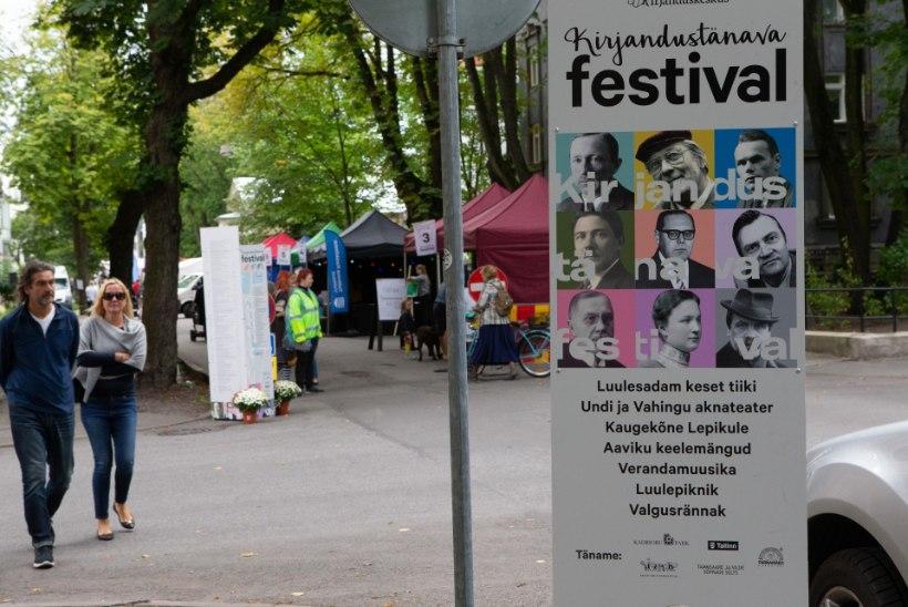 GALERII | Kirjandustänava Festival tõmbas erilist tähelepanu juubilaridele