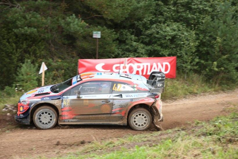 SUPER! Tänak jättis Rally Estonia võidu koju, punktikatsel oli parim Rovanperä
