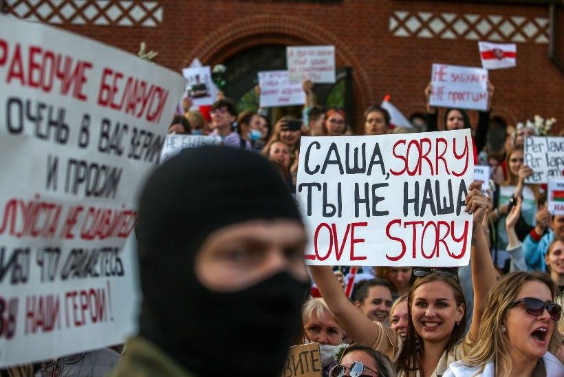 Valgevene võimud võitlevad meeleavaldajatega: välja on toodud miilitsa lisajõud ja sõjaväetehnika