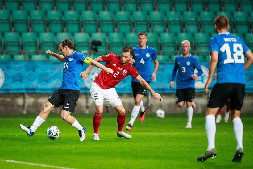 Eesti koondises tehtis sunnitud muudatusi, Armeeniaga kohtumisest jääb kõrvale mitu mängijat