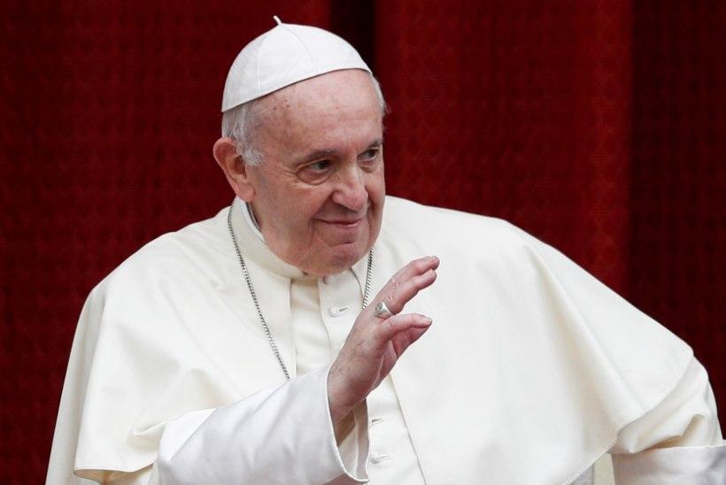 Paavst Franciscus mõistis hukka keelepeksu