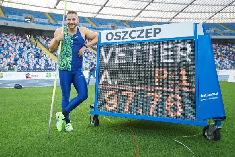 Ülivõimsa odakaare põrutanud Johannes Vetter: paremates tingimustes oleksin visanud üle 100 meetri