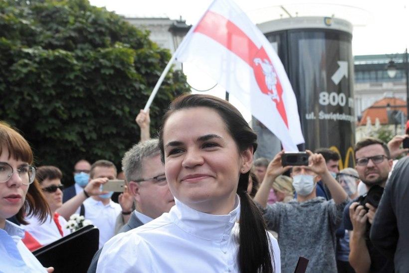 Svjatlana Tsihhanovskaja: protestid peavad jääma rahumeelseteks