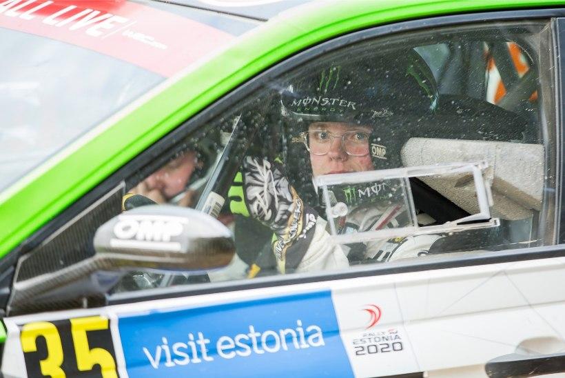 AJALOOLISED KAADRID: maailmameistri poeg tegi Rally Estonial ajalugu