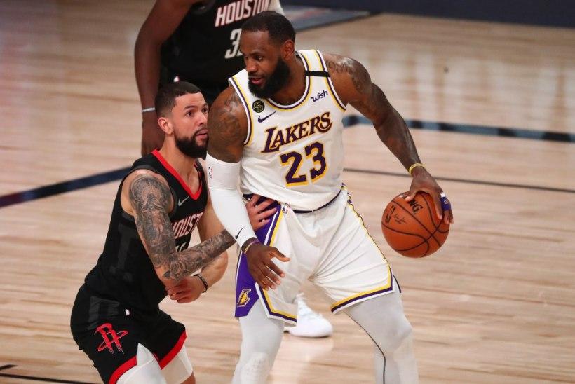 LeBron James püstitas NBA rekordi, põhiturniiri võitja pudenes konkurentsist