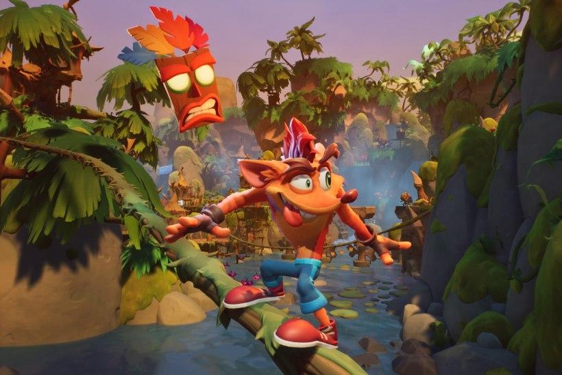 """""""Crash Bandicoot 4"""" saab demoversiooni, kuid sellega kaasneb üks väikene konks"""