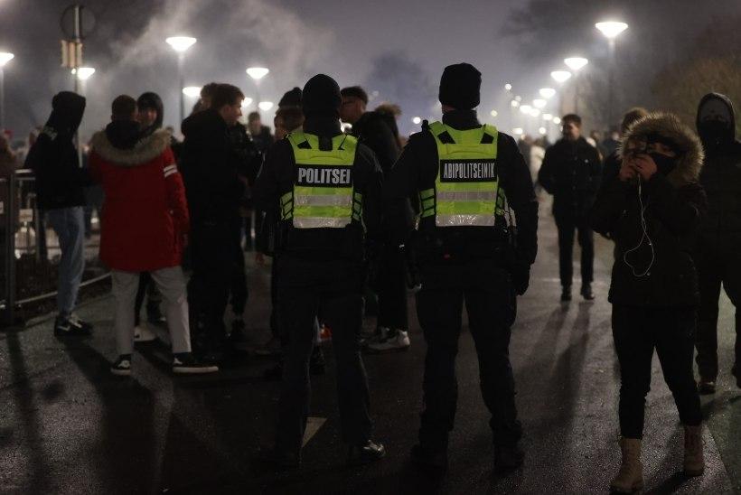 Politsei aastavahetus: ema ja poeg pöörasid tülli telekanali vahetamise tõttu, lahendust otsiti vägivallaga