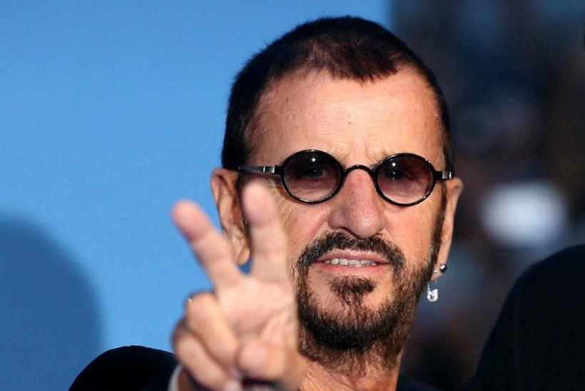 The Beatlesi täht Ringo kinkis fännidele staariderohke muusikavideo