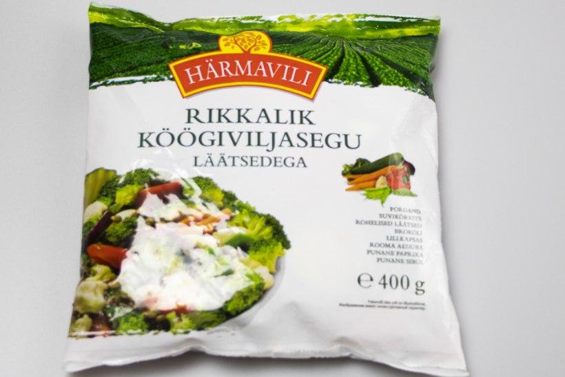 TIIU TESTIB | Külmutatud köögiviljavoki segud: ärge uskuge pilti pakendil!