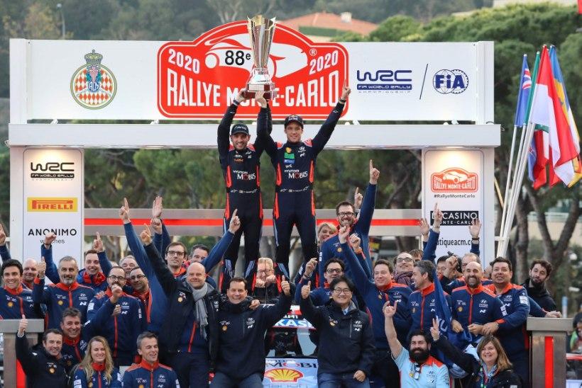 Liikumispiirangud löövad Monte Carlo ralli ajakava sassi