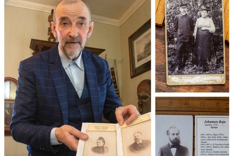 ERAKORDNE HOBI! Tõnu Parmakson uurib välja, kes olid need võõrad inimesed sajandivanustel fotodel