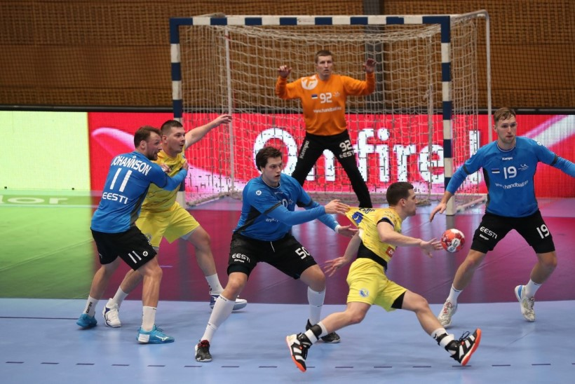 Eesti käsipallikoondis kaotas põnevuskohtumises Bosnia ja Hertsegoviinale