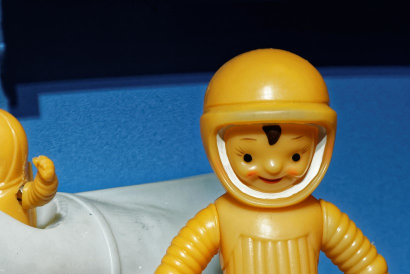 LASTE OMA KOSMOS: ihaldatud mänguasjad olid kosmonaut Totu ja kuukulgur