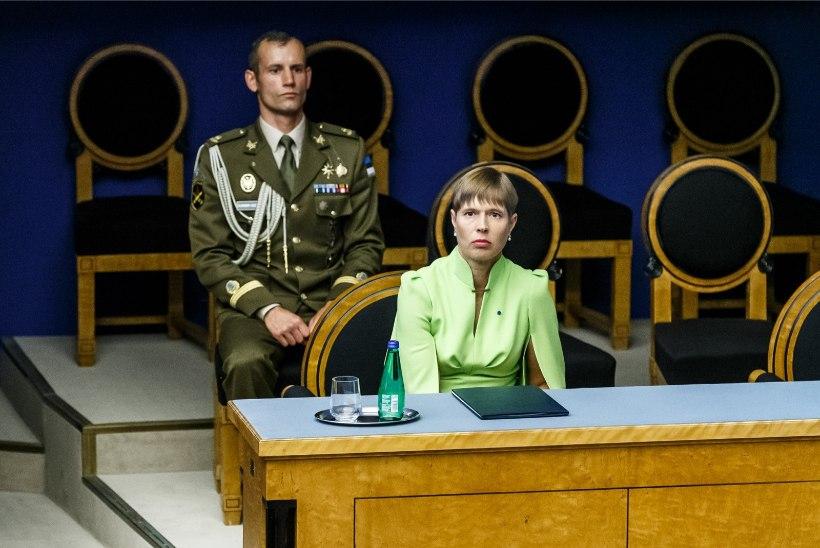 President Kaljulaid: abielureferendum tuleks siduda parlamendi saatusega – kui ei lähe läbi, lõpeb ka riigikogu töö