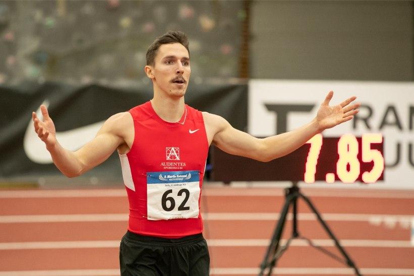 HEA TÖÖ! Karl Erik Nazarov kordas Eesti rekordit