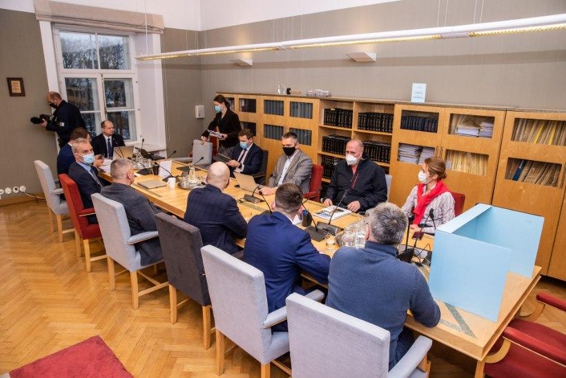Põhiseaduskomisjon saatis rahvahääletuse eelnõu täiskokku viie muudatusettepanekuga