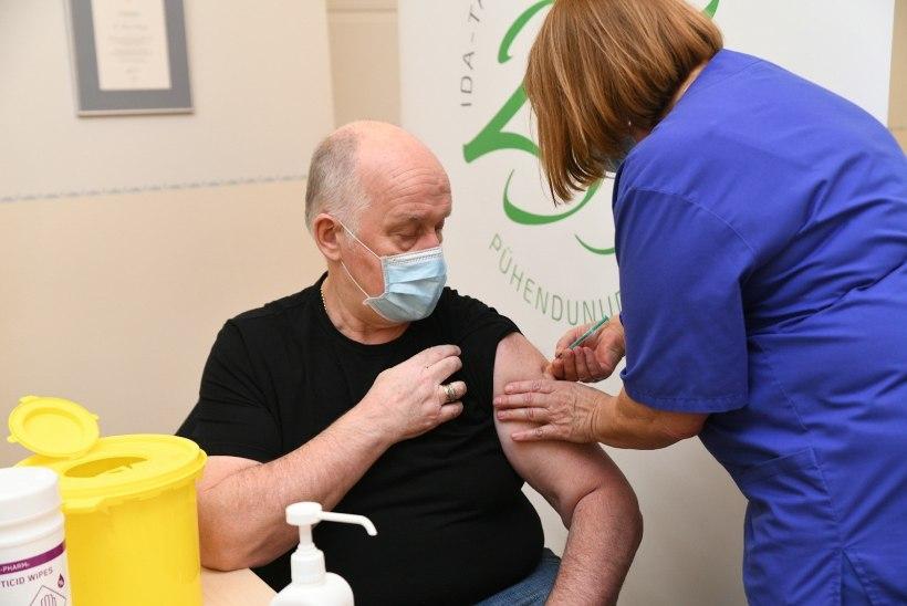 Selle nädalaga loodetakse hooldekodudes vaktsineerida 3800 töötajat ja klienti