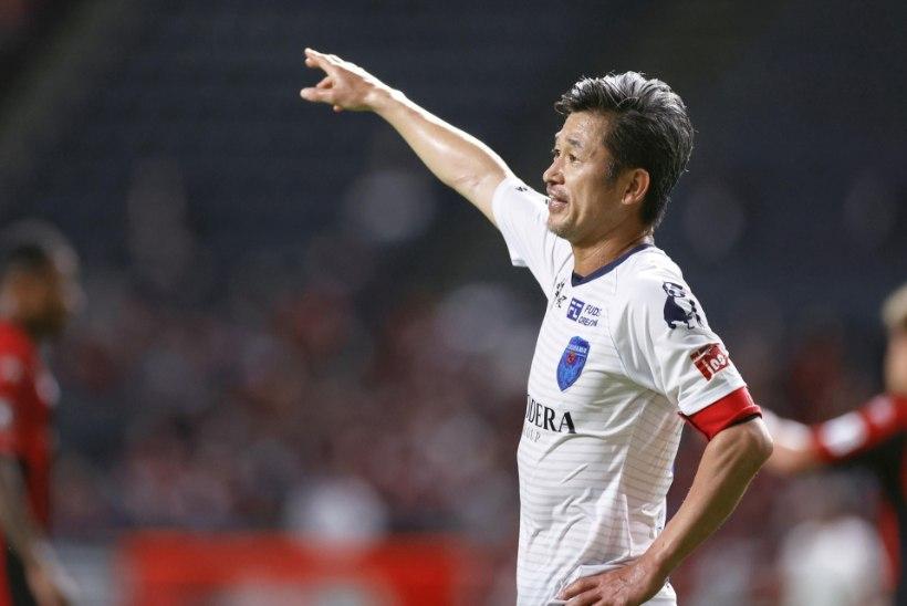 IMEMEES: Jaapani jalgpalliklubi sõlmis lepingu 53aastase mängijaga!