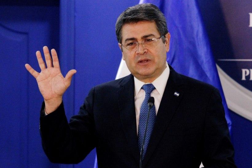 USA prokurörid: Hondurase presidendi abil saadeti ameeriklastele kokaiini