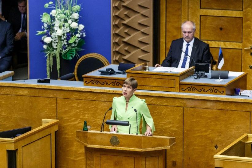 PARLAMENT KAHJUSTAB RIIKI: president taunib nii opositsiooni kui ka koalitsiooni samme abielureferendumi juures