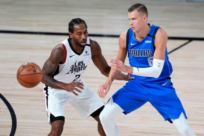 Lätlasest NBA superstaar on põlveoperatsioonist taastunud ning võib peagi platsile naasta