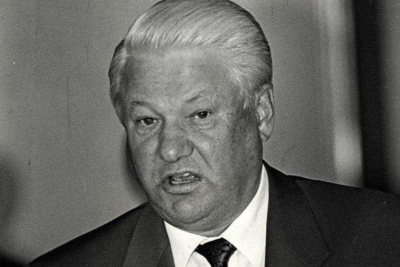 Tõnis Erilaiu lehesaba | Kuidas Rüütel ja Jeltsin lepingu sõlmisid