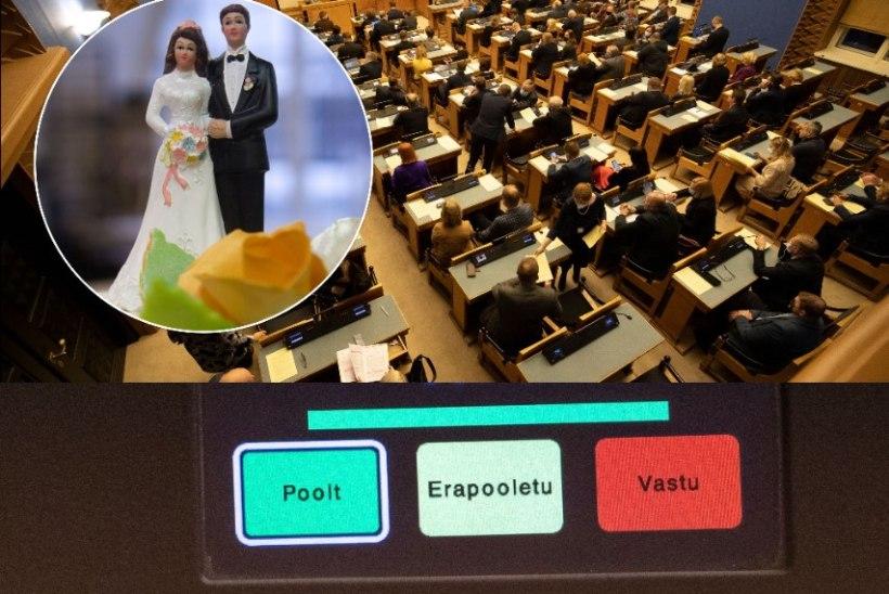 Abielureferendumi lõpphääletus üllatusi ei paku: koalitsioon saab oma tahtmise