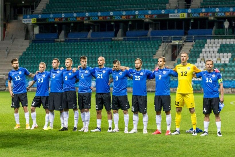 Thomas Häberli debüüt Eesti koondise peatreenerina lõppes 0 : 1 kaotusega