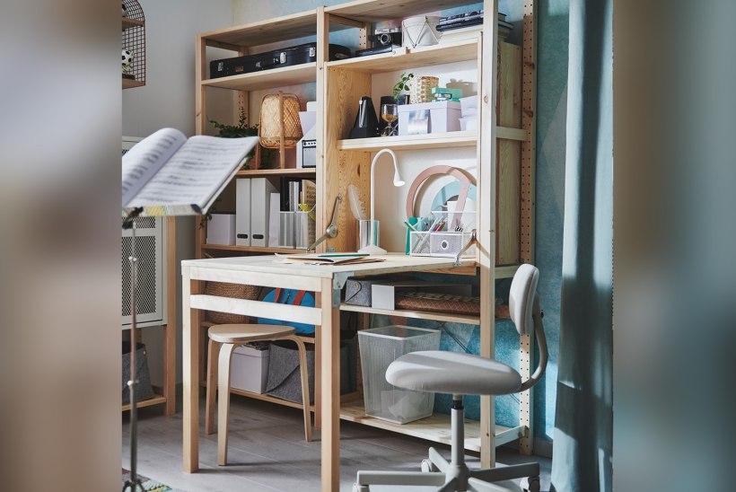 Kas oleksid selle peale tulnud? Viis ideed, kuidas luua väikeses kodus mõnus kodukontor!