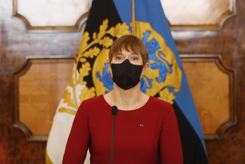 VIDEO   President Kaljulaid: teen ettepaneku moodustada uus valitsus Kaja Kallasele