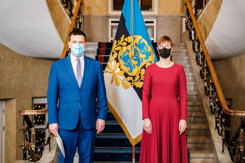 FOTOUUDIS | Peaminister Jüri Ratas teatas Kersti Kaljulaidile oma tagasiastumisest