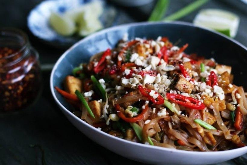 TAI KÖÖGI HITT: vegan versioonis pad thai nuudliroog