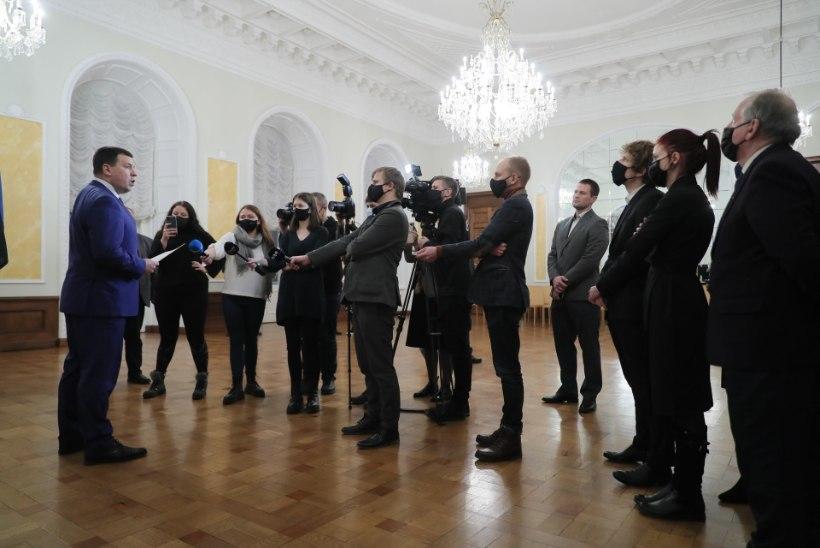 ÕL VIDEO JA FOTOD   Peaminister Jüri Ratas teatas tagasiastumisest