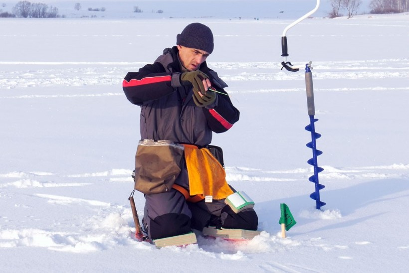 Talvise kirbupüügi meistriklass III. Aeg minna kala püüdma!
