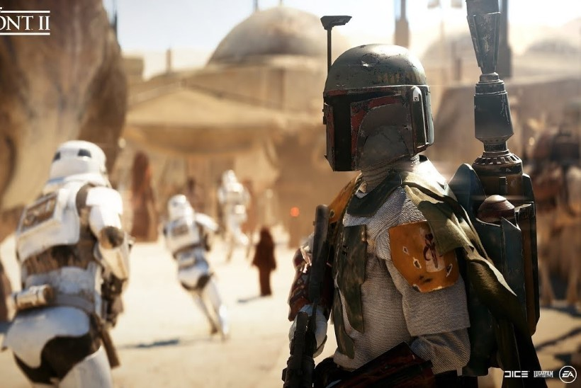 """OLGU JÕUD SINUGA: sel nädalal jagatakse tasuta ära tulistamismäng """"Star Wars: Battlefront II"""""""