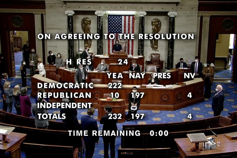 KAKS ON KOHTU SEADUS? Kongresmenid otsustasid Trumpi teist korda ametist tagandada