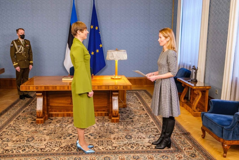 VIDEOD JA FOTOD | Kaja Kallas kohtus Kadriorus president Kersti Kaljulaidiga
