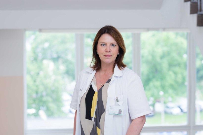 GALERII   Aasta arstiks valiti Covid-osakonna juhataja Alice Lill
