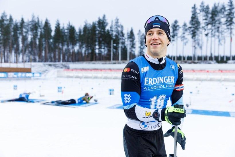 Eesti laskesuusameeskond tegi Oberhofis hooaja parima teatesõidu