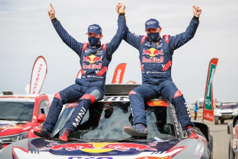 Dakari ralli võitis legendaarne prantslane, Loebi ja Sainzi võistlus ebaõnnestus